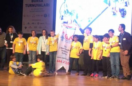 3 MART FIRST® LEGO® League (FLL) YARIŞM...